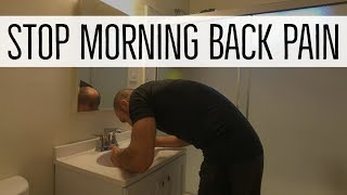 Low Back Pain in the Morning? DO THIS!
