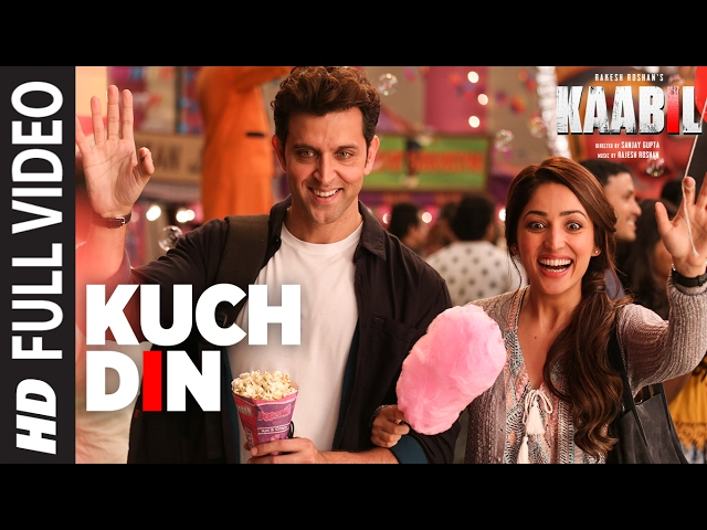 Kuch Din Full Video Song | Kaabil Movie Songs | Hrithik Roshan, Yami