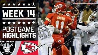Raiders vs. Chiefs   NFL Week 14 Game Highlights