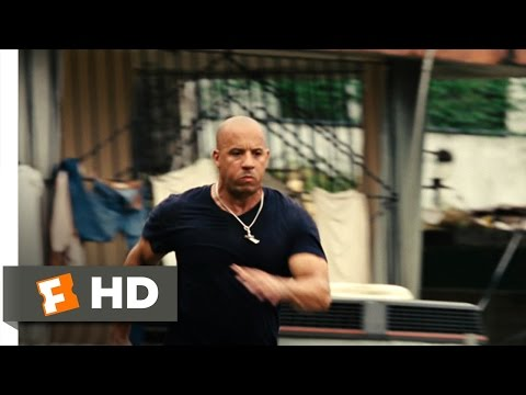 Fast Five (3/10) Movie CLIP - Favela Chase (2011) HD