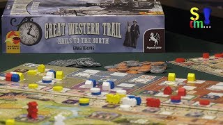 Video-Rezension: Great Western Trail - Rails to the North