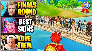 Streamers Host FINALS Qualifier FASHION SHOW | Fortnite Daily Funny Moments Ep.542