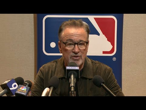 Joe Maddon discusses the club's offseason moves