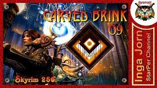 CARVED BRINK #09 🔶 Skyrim #256 ЛОХМАТАЯ ПЕЩЕРА