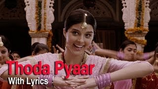 Thoda Thoda Pyar (Full Song With Lyrics) | Love   - YouTube