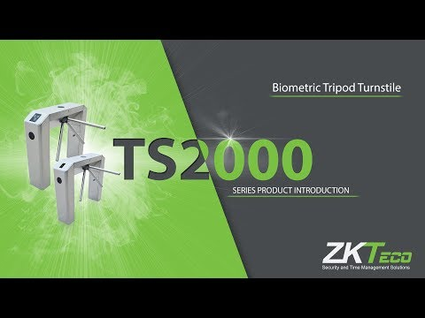 ZKTeco Biometric Tripod Turnstile