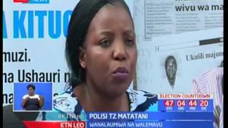 Jeshi la polisi wa Tanzania kuchukuliwa hatua baada ya kuvurumana na walemavu