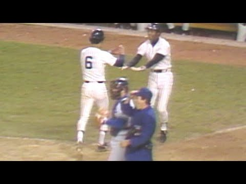 1978 WS Gm5: Munson rips a two-run double in the 7th