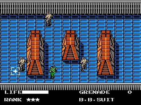 [TAS] NES Metal Gear by dunnius in 22:24,55