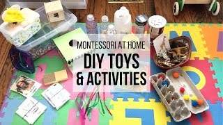 MONTESSORI AT HOME: DIY Montessori Toys for Babies & Toddlers