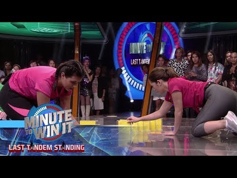 We Built This CD | Minute To Win It - Last Tandem Standing