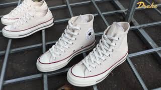 Converse Chuck Taylor All Star 1970s - Parchment/Garnet/Egret - 162053C