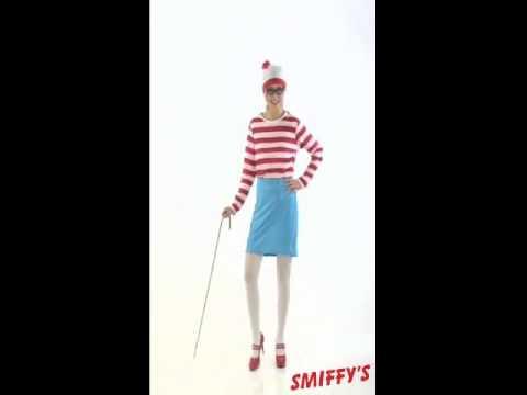 Disfraz de Dónde está Wally: Wenda para Mujer