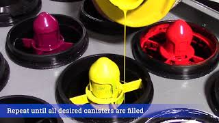Fill Colorant Canisters (COLORx)