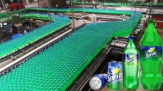 देखिये Factory में कैसे बनाया जाता है स्प्राइट ( Sprite ) || 8 Advance Food Manufacturing Machines