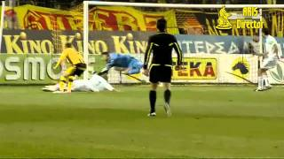 Aris Vs. Panathinaikos 3-1 (Superleague - 2011/2012)