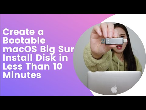 Create a bootable USB drive to boot or install Mac