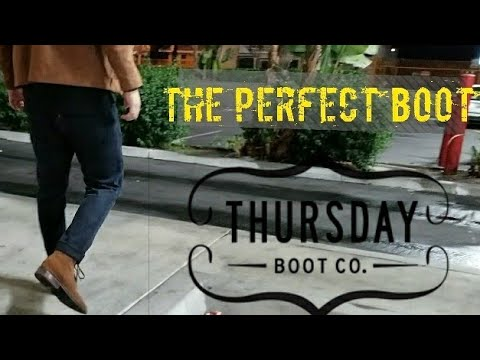 Thursday Boots | Cognac Suede Water Proof