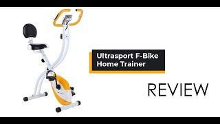 ULTRASPORT F-BIKE HOME TRAINER UNBOXING & REVIEW
