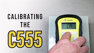 Concrete Moisture Meter: How to Calibrate the C555 (Training)