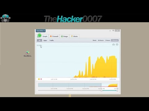GlassWire Free Firewall  tutorial