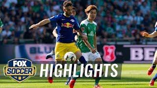 Werder Bremen vs. RB Leipzig   2019 Bundesliga Highlights