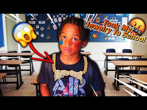 My Son Took My Jewelry To School Prank! (BAD IDEA)