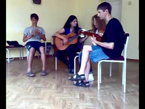 (Nirvana) Come as you are (jam session by Скринник С., Мартиненко Л., Кудрявська Н., Стукало С.)