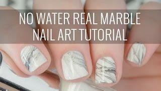 Cara Membuat Hiasan Kuku Marble Yang Lagi Hits belakangan Ini!