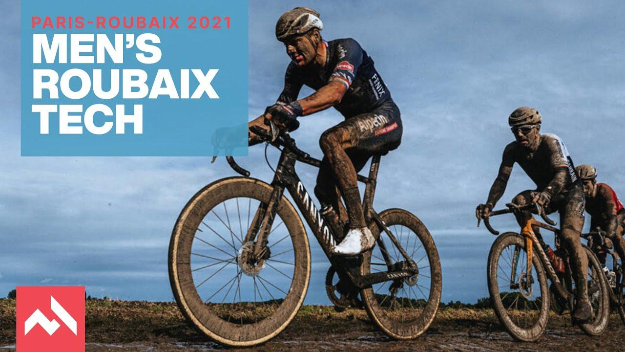 Bici e tecnologie alla Paris-Roubaix 2021