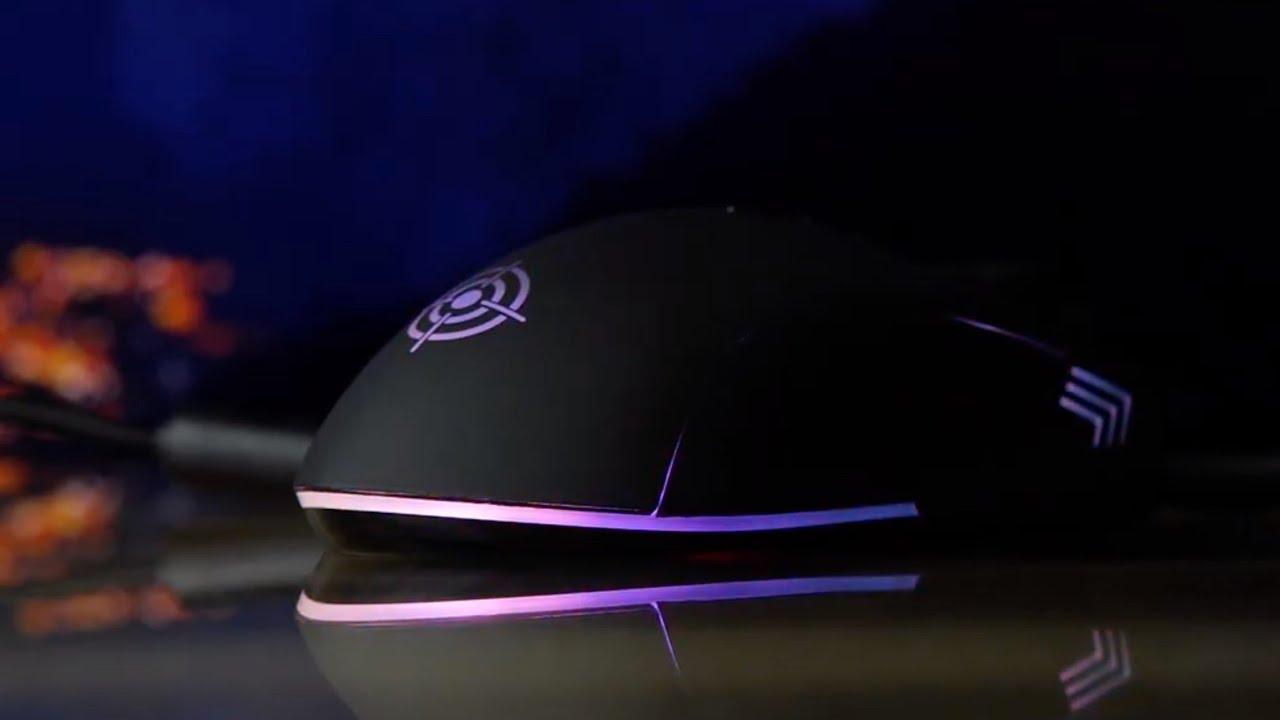 Игровая компьютерная мышь GamePro Lightning USB GM461 video preview