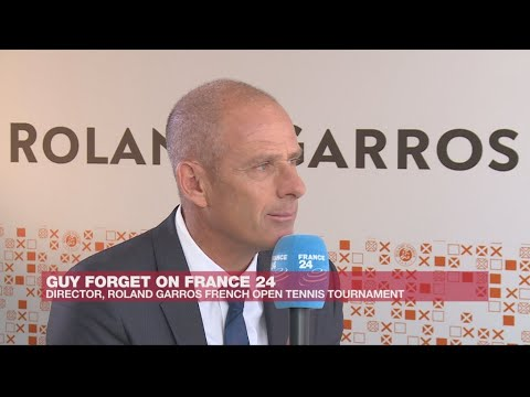'We sell dreams, passion,' says French Open director Guy Forget