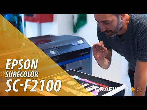 Epson SC-F2100 | Impresora de camisetas DTG