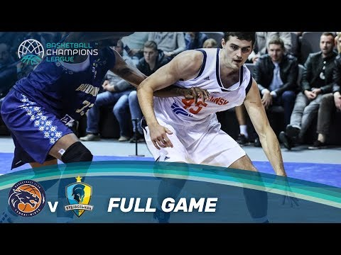 Tsmoki-Minsk (BLR) vs Budivelnyk (UKR) - Full Game - Basketball Champions League 17-18