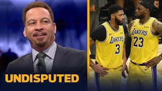 Mavericks are a good test for LeBron, AD & Lakers tonight — Chris Broussard | NBA | UNDISPUTED