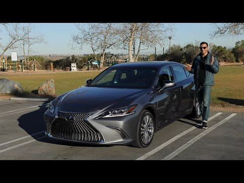 2021 Lexus ES 250 Test Drive Video Review