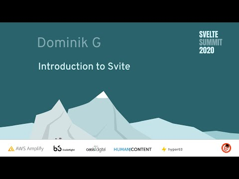 Image thumbnail for talk Introduction to Svite