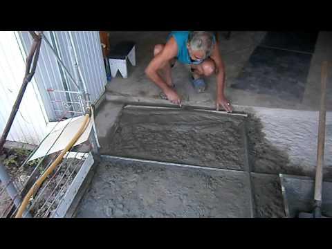 Ремонт облагораживание старого бетонного покрытия