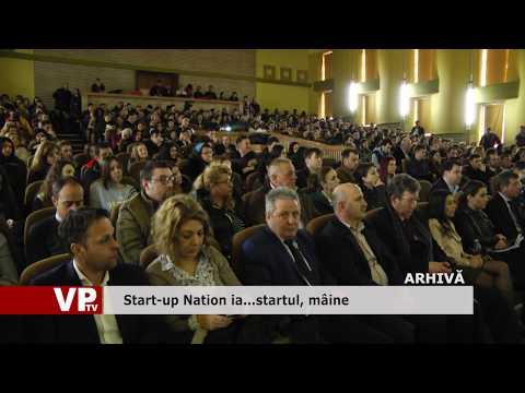Start-up Nation ia… startul, mâine