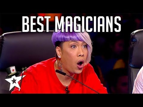 BEST MAGICIANS Around The World | Magician's Got Talent (видео)