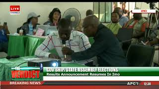 Imo State Governorship Election Result Collation Pt.2 |The Verdict|