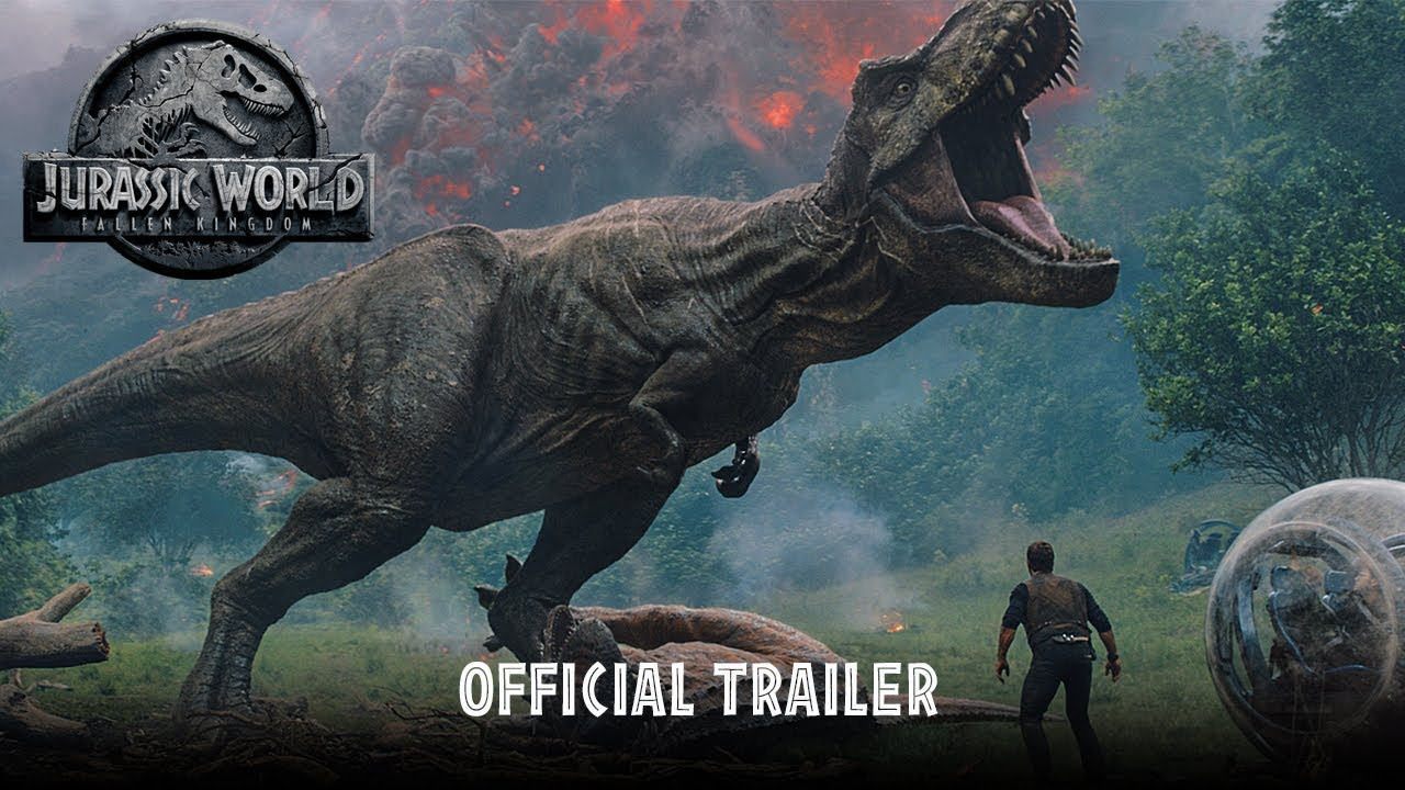 >Jurassic World: Fallen Kingdom - Official Trailer [HD]