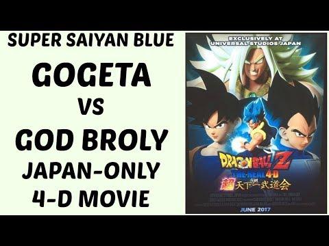 Super Saiyan Blue Gogeta vs God Broly is REAL... in 4D!