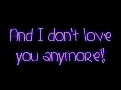 Evanescence- Everybody's Fool Lyrics