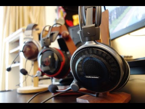 Audio-Technica ATH-ADG1X & AG1X review – Audiophile-grade gaming headsets – By TotallydubbedHD