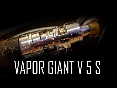 YouTube Video zu Vapor Giant V5 S Selbstwickelverdampfer 4.2 ml