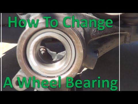 How to change a wheel bearing 2003 Hyundai Elantra