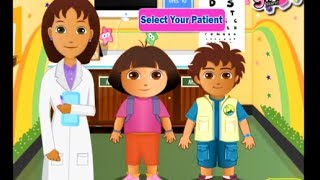 Dora Explorer Free Online Games - Dora and Diego At The Eye Clinc