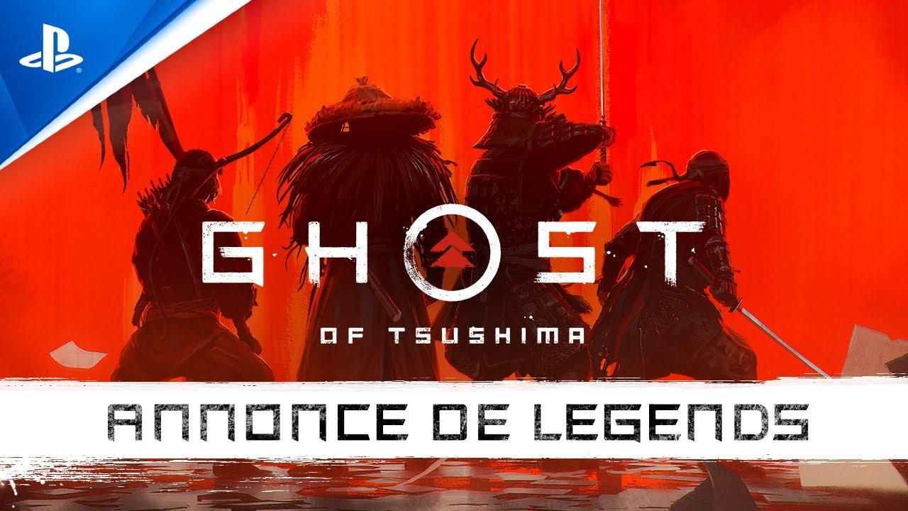 Ghost of Tsushima: Legends arrive sur PS4 à l'automne 2020