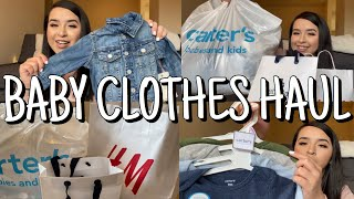 BABY CLOTHES HAUL | H&M, CARTERS & BABY GAP